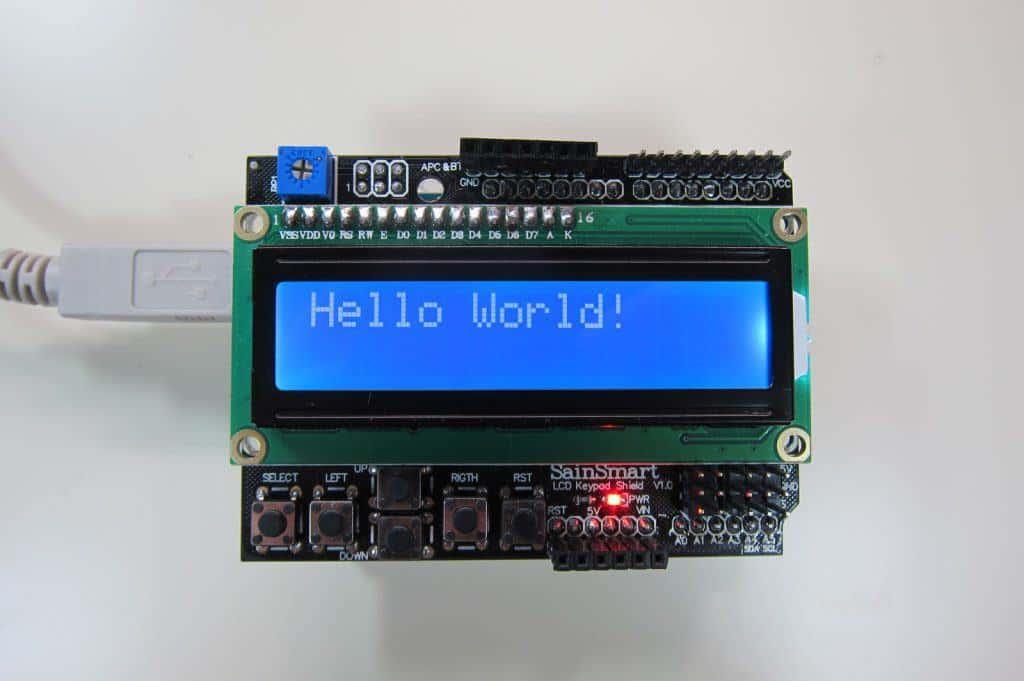 【Arduino】LCDキーパッドシールドで文字を表示させる!