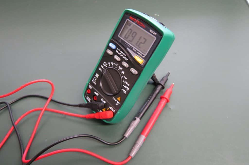 テスターMASTECH『MS8209』レビュー!照度計・騒音計を搭載した多機能テスター