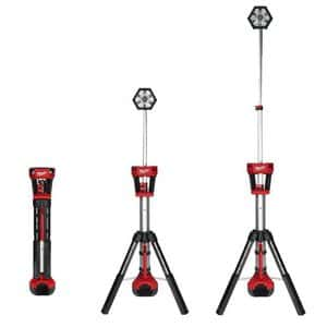 Milwaukee M18 TRUEVIEW LED Stand Light充電式スタンドライト