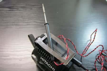 電動工具のバッテリーで使えるコードレスはんだごてを作ってみた