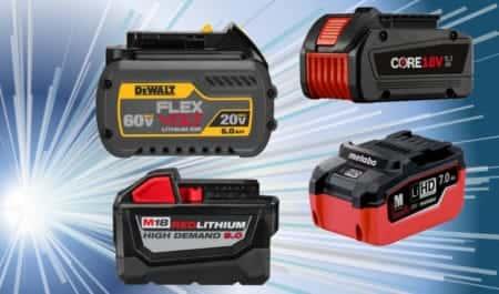 海外電動工具の大容量次世代バッテリーを紹介!【電動工具】