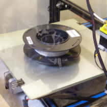 3Dプリンタの湿気たフィラメントをヒートベッドの上に置いて復活させてみた
