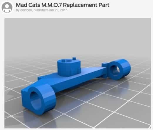 Mad Catz M.M.O.7 STLイメージ