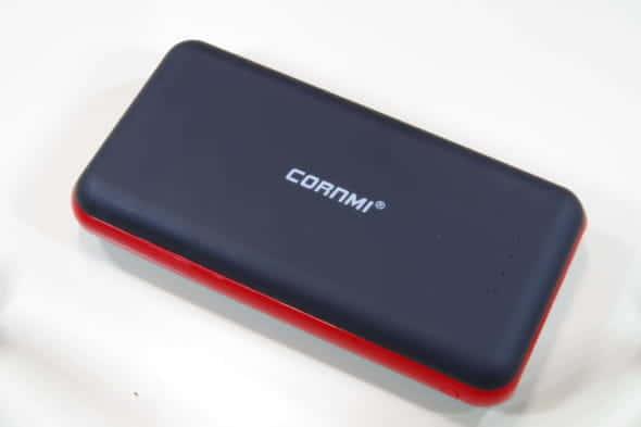 【レビュー】多種類充電ができる大容量モバイルバッテリー CORNMI CB03