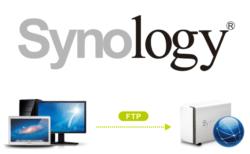 SynologyのNASをFTPサーバにしてアクセスする