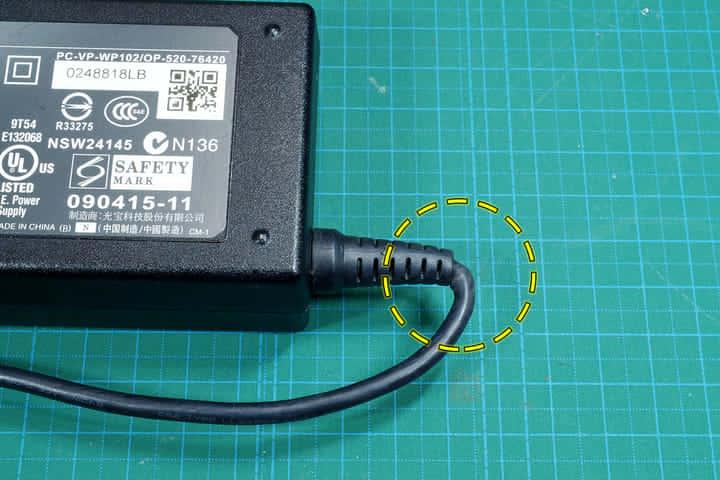 ACアダプタの断線を修理する ――コード根元で断線したACアダプタを直す方法
