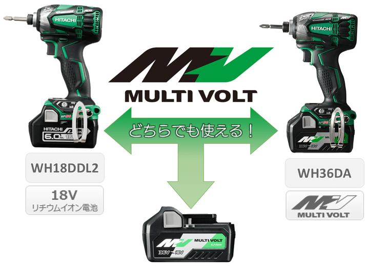 HiKOKI (旧 日立工機)の36VマルチボルトシリーズをFAQ形式で徹底解説!