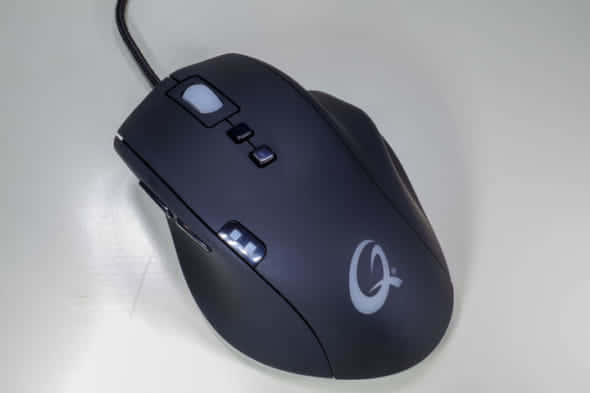 QPAD 8K Laser Pro Gaming Mouse 外観