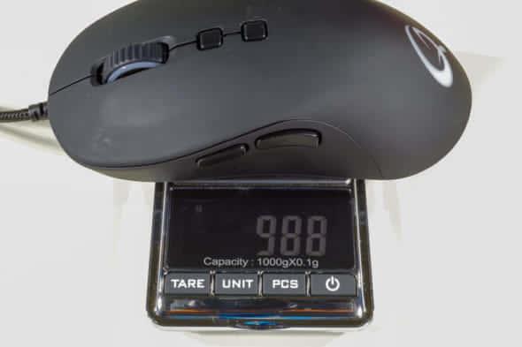 QPAD DX-20重量測定