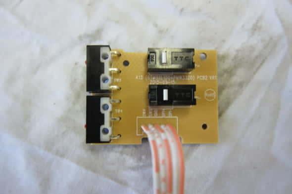 QPAD DX-20サイドボタン基板