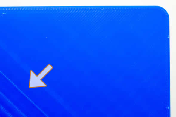 3Dプリンタのフィラメント送り不良品