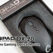 名機をインスパイアした『QPAD DX-20 Pro Gaming Optical Mouse』ゲーミングマウスレビュー