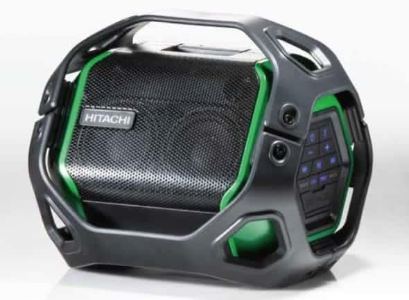 US18DA 小さなボディに高音質を詰め込んだBluetoothスピーカー【日立工機 新製品情報】