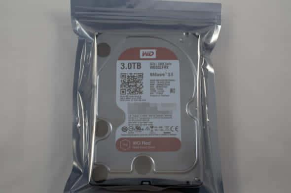故障したWD Red HDDをRMA保証で交換する手順の解説