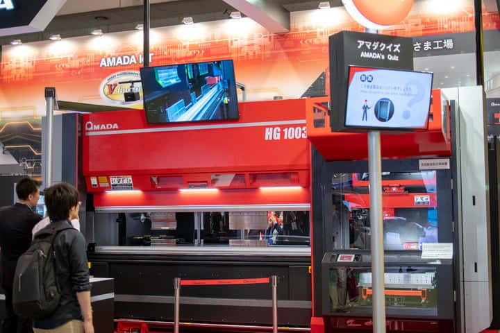 【アマダ|HG-1003ATC】究極のベンディングマシン 多品種少量生産を可能にする板金加工 #CEATEC2018
