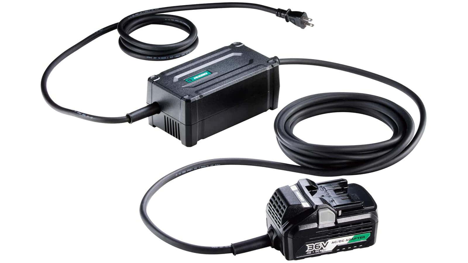 HiKOKI ET36A マルチボルトACアダプタ、コードレス電動工具をコンセントから直接給電