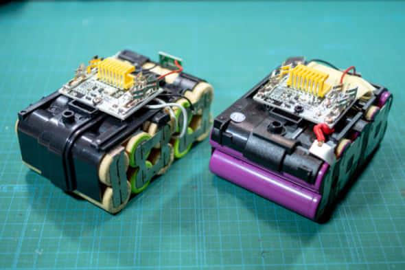 互換バッテリーの開封