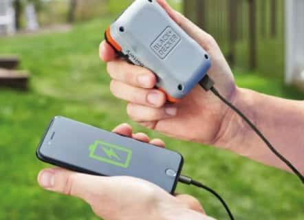 USBで充電できる電動工具バッテリーGoPak|Black and Decker製品情報