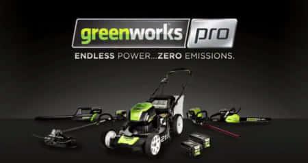 80Vのリチウムイオンバッテリー!エンジンにも匹敵する園芸工具メーカー|GREENWORKS 海外製品情報