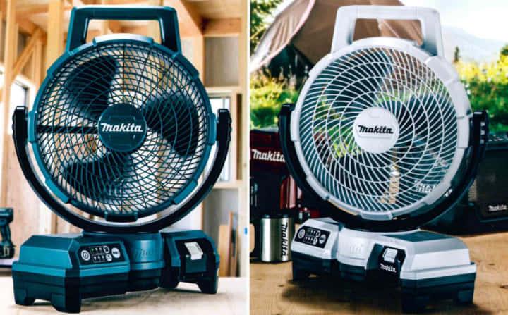 マキタ CF203D/CF202D充電式ファン、コンパクト&風量UP
