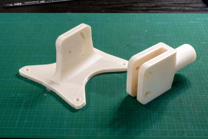 3Dプリンタでイレクターやスペーシアパイプ対応したVESAマウントを作る