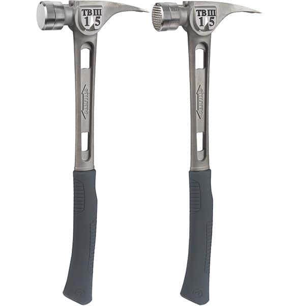 金槌も高級志向、ハイエンドチタンハンマー|Stiletto TiBone Titanium Hammer