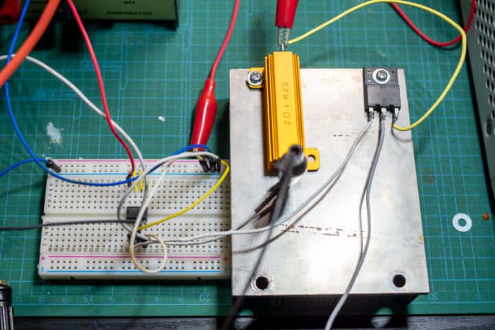 パワーMOS FETで作る電子負荷の製作