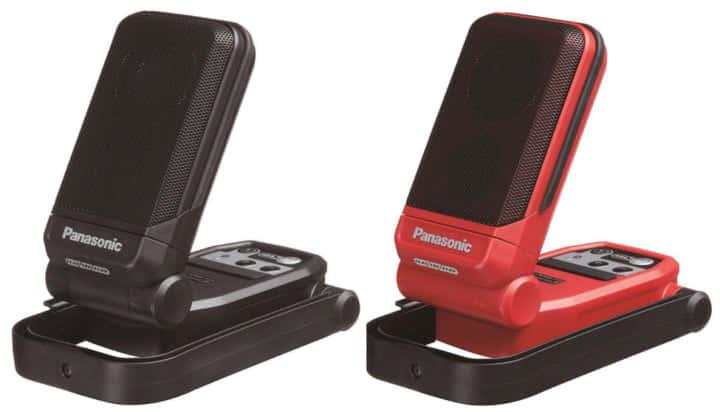 Panasonic EZ37C5充電式Bluetoothスピーカー、手のひらコンパクトサイズ