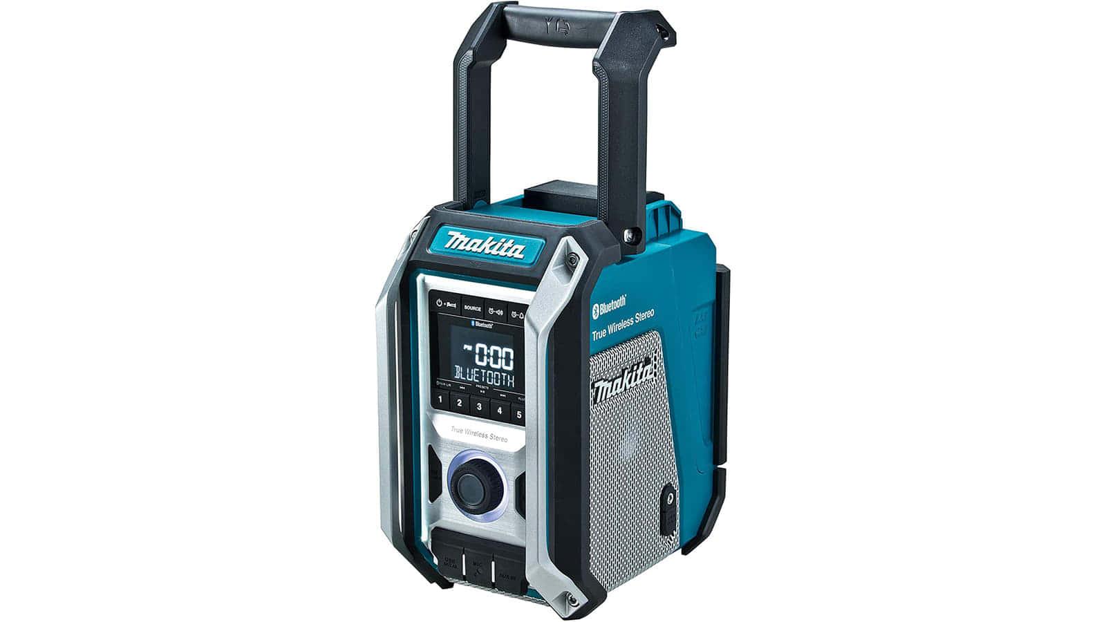 マキタ MR113 充電式ラジオスピーカー、Bluetooth機能を強化