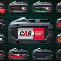 Metabo CAS(CORDLESS ALLIANCE SYSTEM)とは? 電動工具バッテリーの共通化戦略