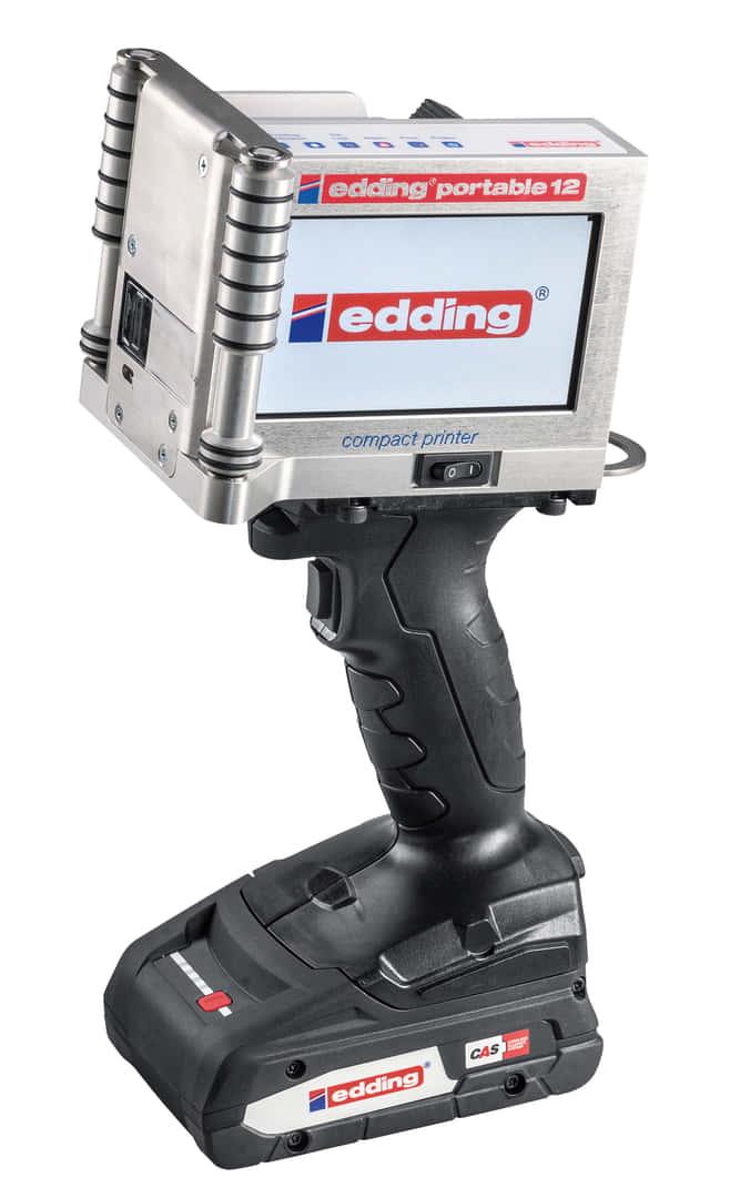 CASバッテリーに対応、モバイルハンドプリンタ「edding portable 12」が発売