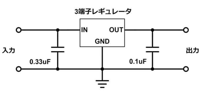 12Vなどの高い電圧から、5Vや3.3Vのマイコン向け電圧を作る【逆引き回路設計】