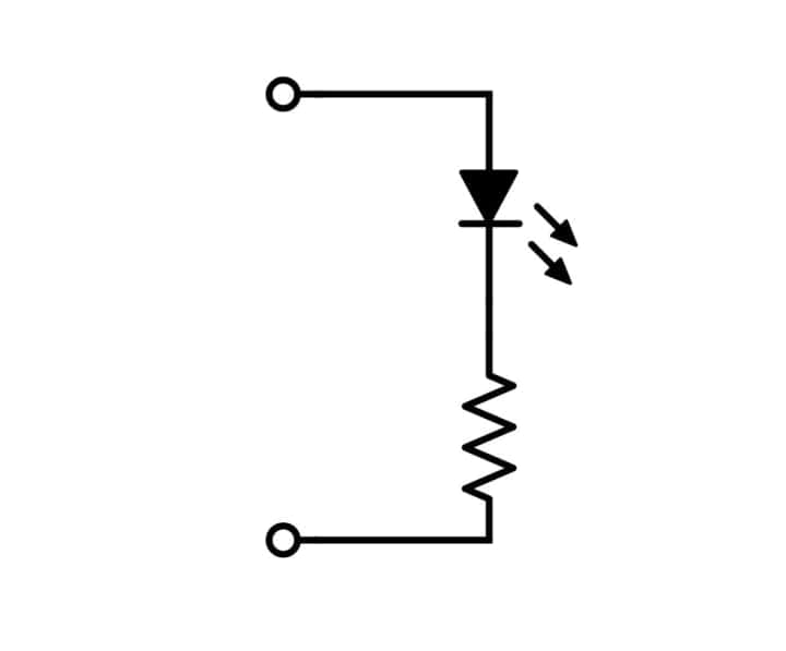 LEDを光らせる【逆引き回路設計】