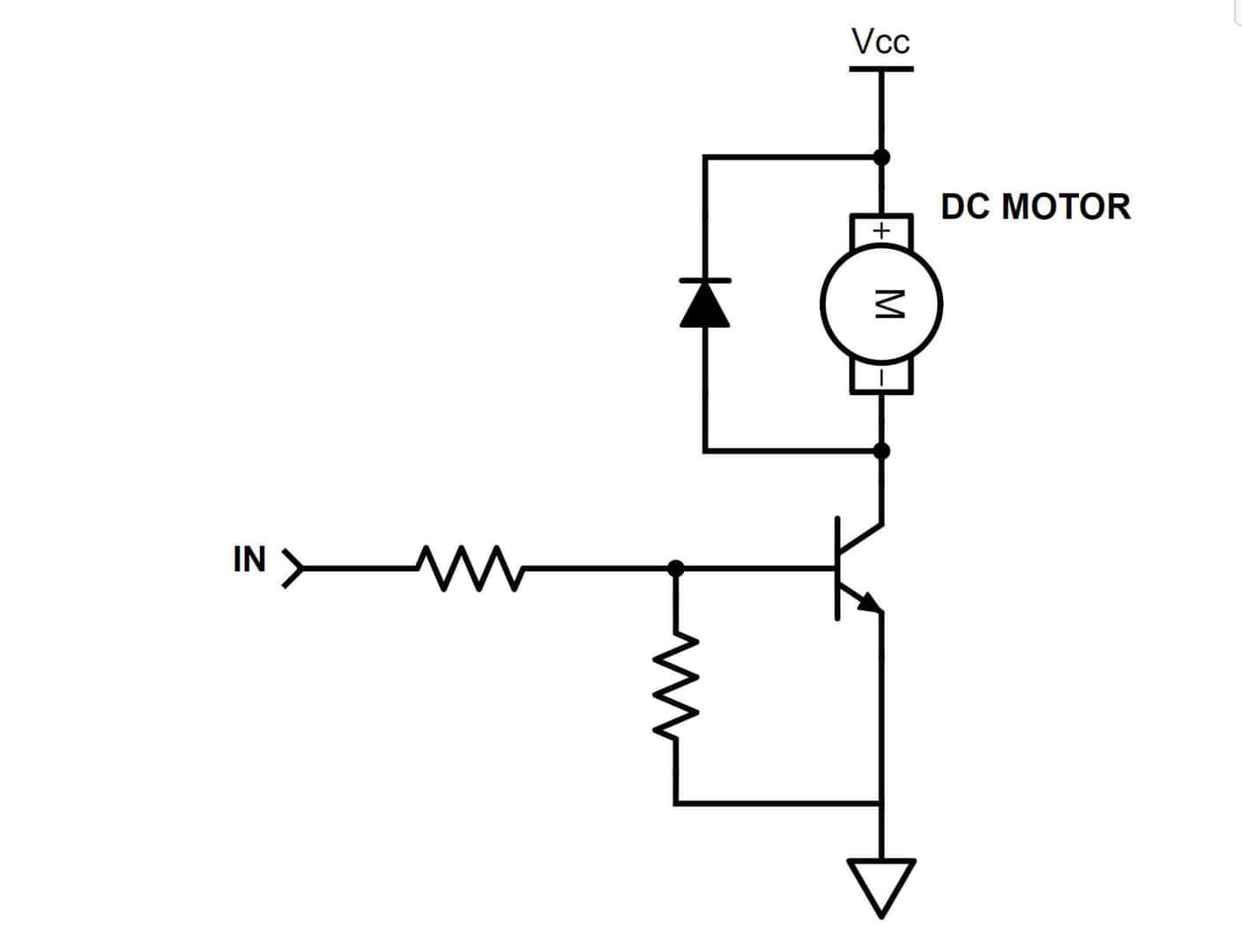 ブラシモーターのON・OFFを操作する【逆引き回路設計】