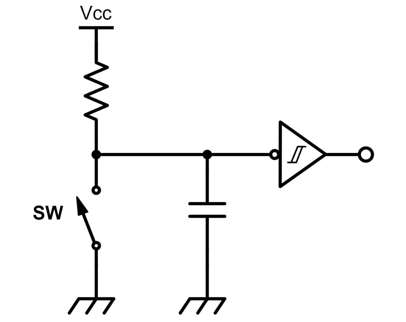 スイッチが複数回押される現象を直す、チャタリングを対策する【逆引き回路設計】