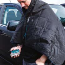 US Makita、18Vバッテリーで動作する暖房ブランケット「DCB200A」を発売