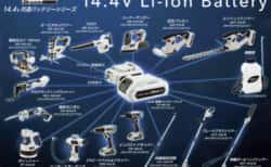 高儀の電動工具ブランドEARTH MAN『S-Link』シリーズに園芸工具が登場
