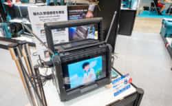 あの「マキタ」がテレビを販売!『TV100』電動工具用バッテリーで動くポータブルテレビ