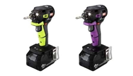 MAX インパクトドライバPJ-ID153「ビビットグリーン」「ライトパープル」