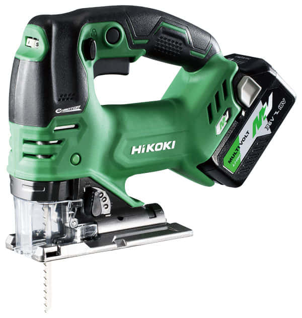 HiKOKI新製品 CJ36DA 、マルチボルト対応のコードレスジグソー