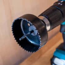 丸くて大きな穴を空ける「ホールソー」の使い方