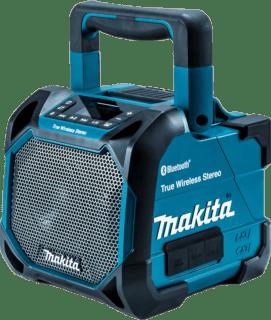 マキタ新製品|MR203 ステレオペアリングに対応、オーディオメーカー顔負けのBluetoothスピーカー