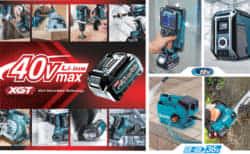 マキタの36V戦略はどうなるのか、マキタ40V MAX(XGT)と18V×2本(LXTx2)の違い