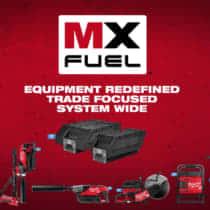 Milwaukee MX Fuel 史上最強の電動工具用バッテリーシリーズが展開