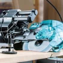 マキタ LS001Gスライドマルノコ、40V MAXバッテリーでAC100V品以上の切断スピードを実現