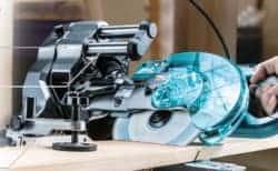 マキタ新製品|LS001Gスライドマルノコ、40V MAXバッテリーでAC100V品以上の切断スピードを実現