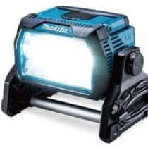 マキタ ML809 充電式スタンドライト、明るさ10,000lmで建設現場や道路工事に