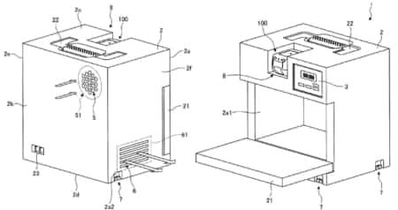 「電子レンジ」や「電動釘打ち機」など新市場参入を匂わせる様々な特許 [マキタ製品動向]