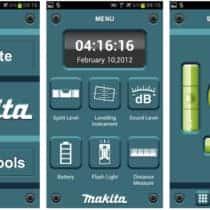 マキタの電動工具、アプリ解説