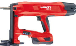 HILTI 充電式コンクリートネイラ BX 3-ME、ガスを使わないバッテリー方式